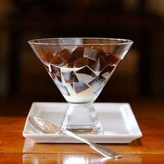 Vietnamese Coffee Jelly Dessert