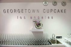 Georgetown Cupcake Los Angeles Swarovski crystal mixer