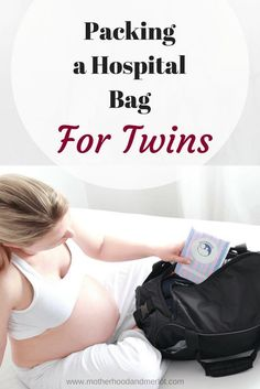 Everything you need to bring when packing a hospital bag for twins, one baby, or even more! As a mom of four, I have been through hospital bag packing a few times. These are my must-haves! Packing Hospital Bag, Hospital Bag Checklist, Twin Mom, Twin Babies, Newborn Twins, Newborn Care, Newborn Schedule, Baby Hacks, Baby Tips