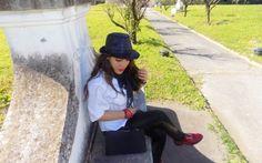 Nero, bianco e rosso: un look super glam firmato Pinko e Disney! Salve a tutte ragazze! Il nero è un colore che solitamente è considerato spento e scuro; se abbinato alle giuste tonalità, perchè rinunciare a creare un outfit super glam? Io ho indossato un look da #fashio #outfit #style #moda #fashionblogger