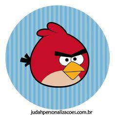 Aqui tem o kit festa completo dos Angry Birds.
