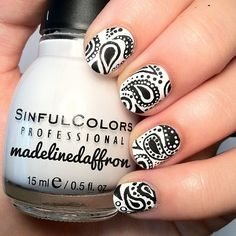 Love this! Instagram photo by madelinedaffron #nail #nails #nailsart