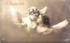 Vintage Postcard ~ Sweet Angels | Flickr - Photo Sharing!