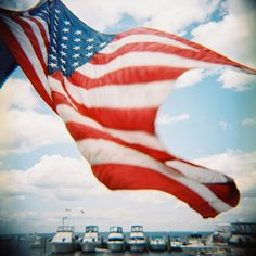Red, White and Blue, American Flag,