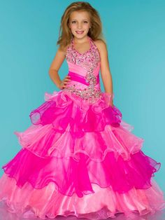Pageant Dresses for little girls featuring award winning looks. These super cute dresses will thrill your daughter and help her to exude poise and confidence. Glitz Pageant Dresses, Pagent Dresses, Little Girl Pageant Dresses, Pageant Wear, Prom Dresses For Sale, Designer Prom Dresses, Prom Dresses Online, Ball Dresses, Girls Dresses