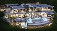 Nouvelle réalisation d'une luxueuse villa à La Zagaleta
