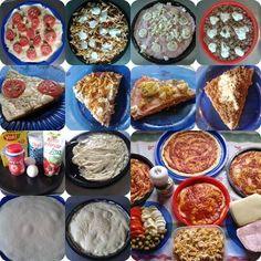 Massa para Pizza Dukan! Então, meu povo...Todo mundo começa a dieta na segunda. Daí quando vem o final de semana, acaba...Em PIZZA!!! Oba!!
