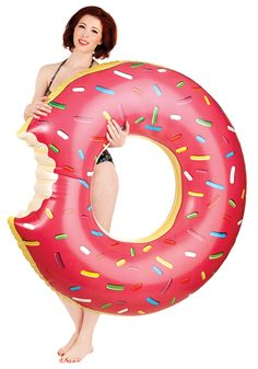 Mmmm, Donut Pool Float | Mod Retro Vintage Decor Accessories | ModCloth.com