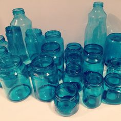 My painted mason jars!
