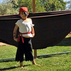 Boys Pirate Costume pants shirt waist sash by SageNThymeDesigns, $30.00