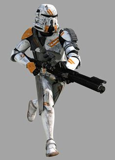 Clone Trooper 2nd Airborne Company , 212th Attack Battalion of the 7th Sky Corps of the Third Systems Army