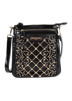 Nicole Lee- Eleanor Studded Messenger Bag