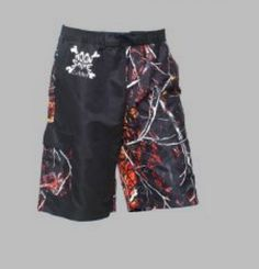 You're looking at a hard-to-find, hot on the market pair of camo board shorts.  This camo pattern has become one of the most popular in the industry. Camouflage board shorts  WILDFIRE SWIMWEAR ORANGE CAMO PANEL BOARD SHORTS $39.99 Sizes S thru 3X www.nanascountryrusticshop.com www.facebook.com/nanascountryrusticshop