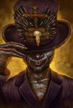 10 Best Baron Samedi Images Baron Samedi Dark Art Baron