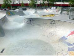 Vienna Skate Park The park is located in Vienna, Austria. Vienna skate park has heaps of transition with multiple bowls and snake pits which will allow for hundreds of different lines. Honeymoon Pictures, Skate Park, Vienna