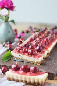 olles *Himmelsglitzerdings*: Quark Tarte mit Pfirsich und Kirschen ★ Gastbeitrag Das Knusperstübchen