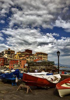 Genova Boccadasse, province of Genova , Liguria region Italy.