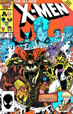 Uncanny X-Men Annual #10 cover by Art Adams (Quite possibly one of the greatest single issues of a comic book ever. EV. ER.)