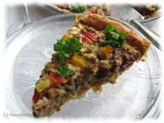 Tacos, Pie, Mexican, Ethnic Recipes, Breads, Food, Pizza, Red Peppers, Torte