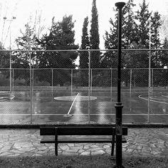 #rainy #days #morning #cloudy #sky #trees #basketball