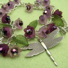 Iris Dragonfly Bracelet