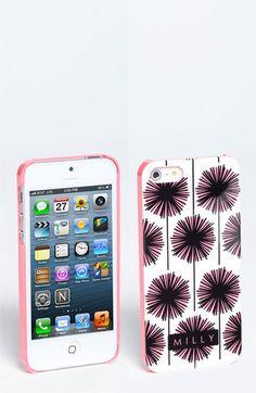 Milly 'Starburst' Print iPhone 5 Case | Nordstrom