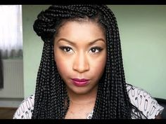 Hair Extensions & Braiding Hair Tutorial: 7 Styles [Video] - http://community.blackhairinformation.com/video-gallery/braids-and-twists-videos/hair-extensions-braiding-hair-tutorial-7-styles-video/