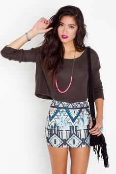 Aztec Pyramid Skirt    $38.00