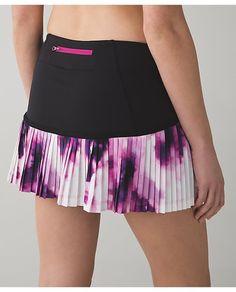 0a3375b43c lululemon sweet-pleat-skirt Running Skirts, Pleated Skirt, Dress Skirt,  Lululemon