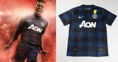 Camisa reserva do Manchester United 2013-2014