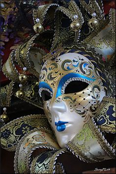 One of the Many Colorful Mask of Venice | Flickr - Photo Sharing!