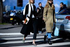 Paris Fashion Week Fall 2016 Street Style, Day 5 - -Wmag