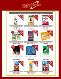 Pets Planet Offers 22nd September - 23rd October 2016 - http://www.olcatalogue.co.uk/pp/pets-planet-offers.html