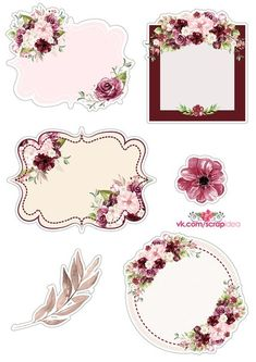 От нашей группы Label Paper, Paper Tags, Printable Labels, Printable Planner, Scrapbook Stickers, Scrapbook Paper, Molduras Vintage, Scrapbooking Freebies, Card Making Templates