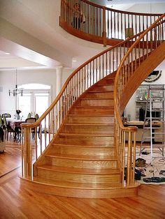 Oaken Staircase Design