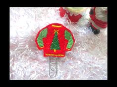 The Ugly Sweater Planner Clip  TN Charm Paper clip  bible