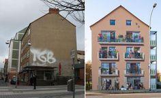 HANNOVER Nordstadt Wandbild am Haus hanover germany