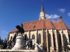 """See 813 photos and 21 tips from 11515 visitors to Cluj-Napoca. """"as for the winter in this country is really wonderful weather, the sun in the sky, a. Romania, Four Square, Big Ben, Barcelona Cathedral, Building, Places, Blog, Travel, Viajes"""