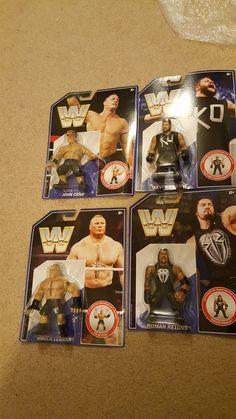 WWE Mattel Set of 4 BROCK LESNAR KEVIN OWENS ROMAN REIGNS JOHN CENA Throwbacks!! - http://bestsellerlist.co.uk/wwe-mattel-set-of-4-brock-lesnar-kevin-owens-roman-reigns-john-cena-throwbacks/