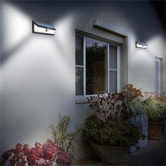 Mpow 54 LED Night Lighting Waterproof Solar Lights