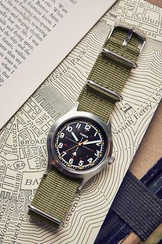 Todd Snyder and Timex Modernize the Classic Military Watch Timex Military Watch, Todd Snyder Timex, Field Watches, Edc Everyday Carry, Vintage Rolex, Seiko, Cool Watches, Omega Watch, Air Jordans