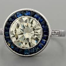 Image result for engagement rings vintage cartier