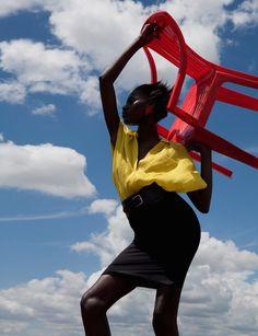 Viviane Sassen Combines Surrealism And Fashion