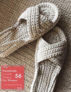 Crochet Slippers Designs With Modern Patterns For Women. Model No: 31 Crochet Slipper Pattern, Crochet Shoes, Crochet Slippers, Crochet Clothes, Crochet Baby, Knit Crochet, Knitting Patterns, Crochet Patterns, Crochet Designs