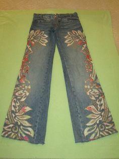 Robert Cavalli Womens Embrodered Jeans | eBay