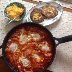 Mexikansk morgenmad a la Jamie Olivers tømmermændsmorgenmad
