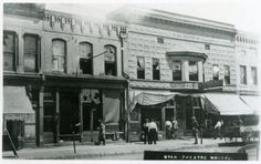 Springfield, IL. The Star Theater 1908. Courtesy of Springfield Rewind and Sangamon Valley Archives.