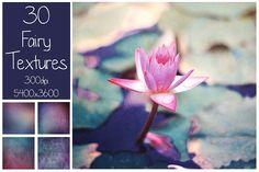 30 Fairy Color Textures @creativework247