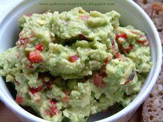 Qchenne-Inspiracje! Odchudzanie, dietoterapia, leczenie dietą: Przepis na oryginalne meksykańskie guacamole ! Kto powinien zwrócić na nie szczególną uwagę?