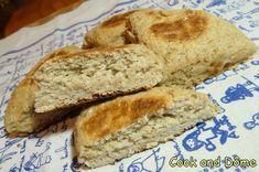 Bannock, un pain irlandais cuit sur une plaque, original, délicieux, tout moelleux et très rapide à faire.